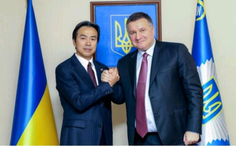 Арсен Аваков и Ду Вэй договорились о сотрудничестве в разных сферах