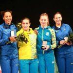 Жіноча збірна України по фехтуванню на шпагах у Китаї, 2016 2