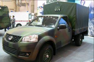 Вантажний автомобіль-пікап для ЗСУ на базі Great Wall WINGLE 5