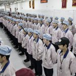 Фабрика Китай работники