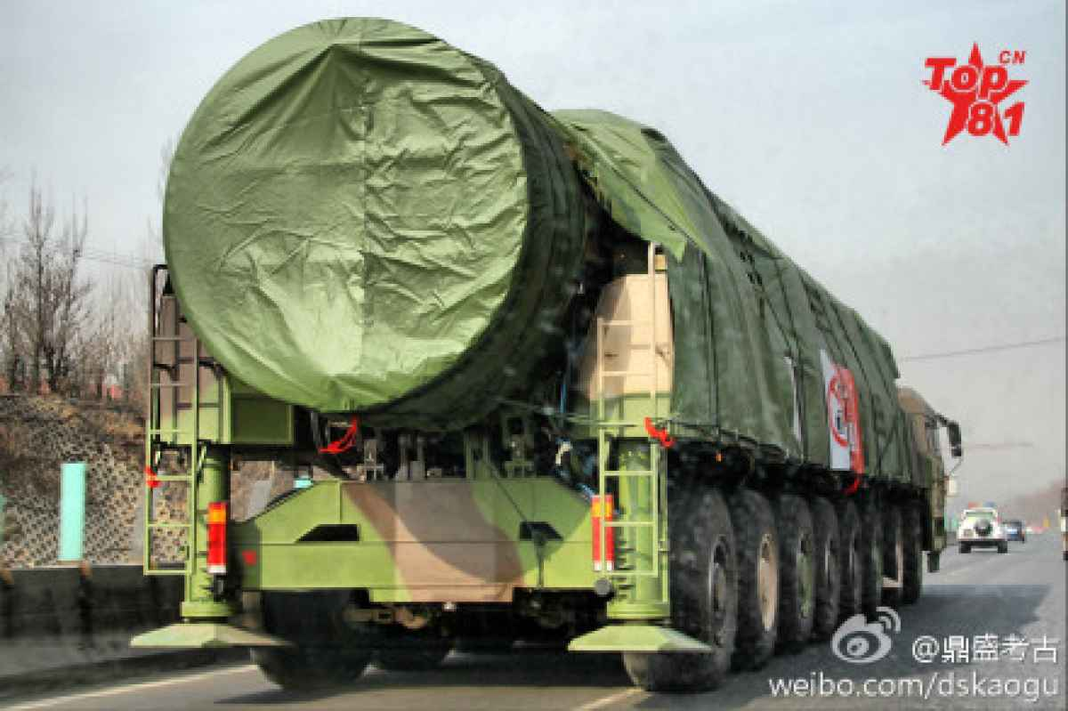 Китайские МБР могут превратить в «ядерную пыль» и Москву, и Вашингтон — в ответ на провокацию