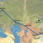 Маршрут Таджикистан-ЕС железная дорога