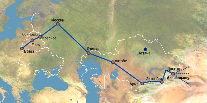 Китай запустил через Беларусь «прямое» железнодорожное сообщение с Великобританией