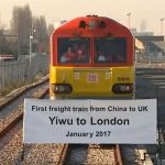 Первый товарный поезд из Китая в Лондон