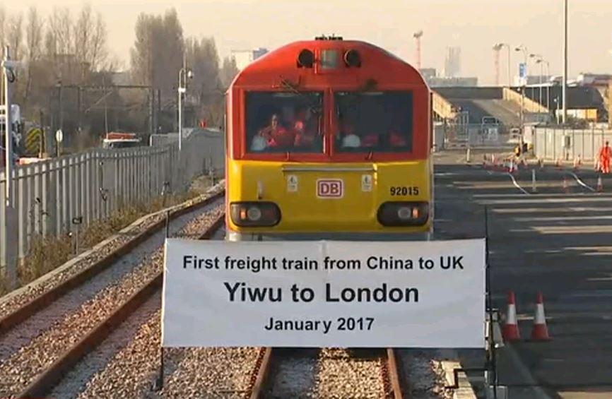 Первый поезд из Китая в Лондоне — начало Эры Золотой орды на глобальном уровне?