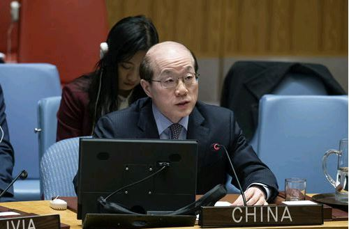 Заявление посла Лиу Цзеи на заседании Совета Безопасности по Украине: