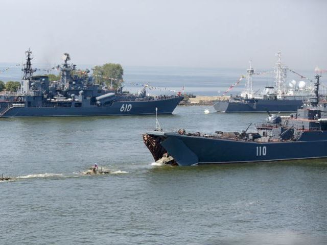 Празднование Дня ВМС РФ порту Балтийск