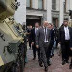 Президент Парламентской ассамблеи НАТО и Председатель ВР Украины, представители УкрОборонПром