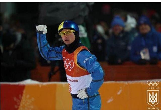 чемпіон XXIII зимових Олімпійських ігор в Пхьончхані з фрістайлу українець Олександр Абраменко
