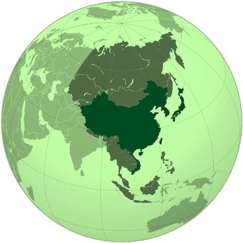 Китай і світ на глобусі