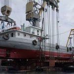Китай і Україна: судно Darun 66 технічного флоту China Harbour Engineering Company (CHEC) після докового ремонту