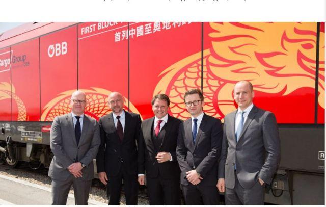 """Про нову лінію """"Шовкового шляху"""" Китай-Австрія через Казахстан, Росію, Україну і Словаччину"""