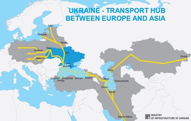 Залізничний потяг Євросоюз – Азія, КНР через Україну
