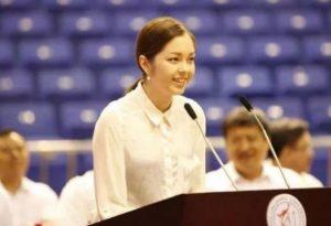 Укараїнка Ніна Лінь блискуче закінчила китайський університет