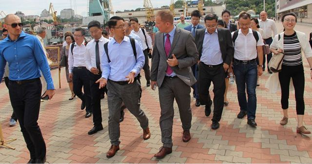 Найбільші інвестори з Китаю цікавляться інфраструктурою чорноморських портів України
