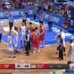 Бійка під час баскетбольного матчу Китай-Україна