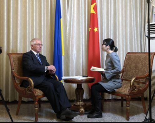 Посол України в КНР про Першу Китайську Міжнародну Імпортну виставку (ЕКСПО)