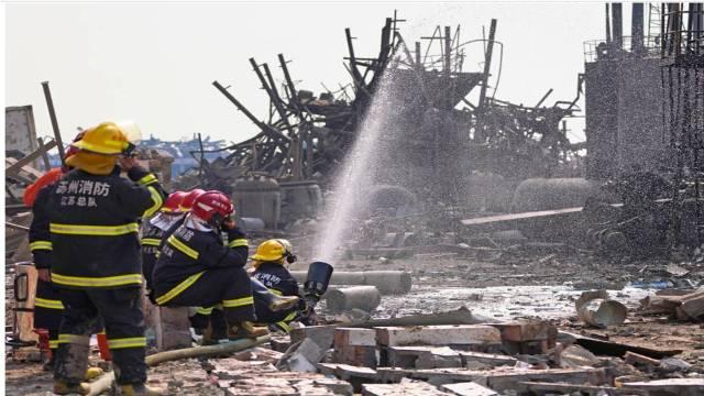 Вибух на хімічному заводі в КНР – більше ніж 70 загиблих