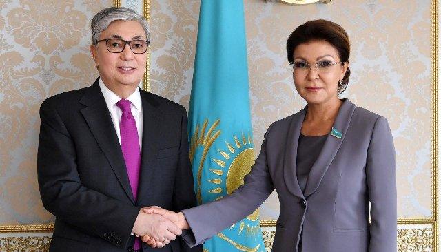 Президент Казахстана Касым-Жомарт Токаев, Спикер Сената Казахстана Дарига Назарбаева
