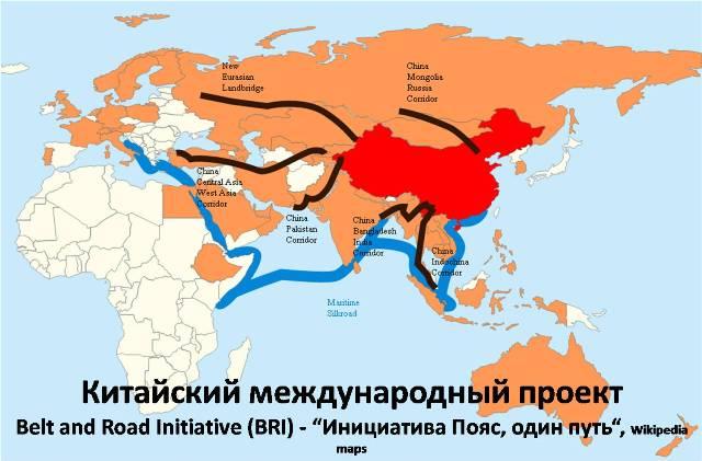 BRI - Belt and Road Initiative - Инициатива Пояс, один путь