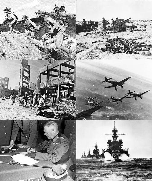 Особенности Второй Мировой войны и потери в ней СССР, Украины, Китая