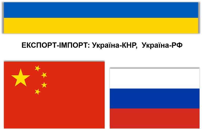 Об`єм торгівлі України з Китаєм перевищив об`єм торгівлі України з Росією