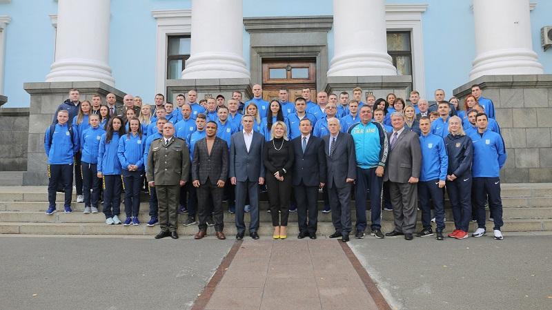 Збірна спортивна команда ЗС України вирушила на Всесвітні Ігри до Китаю