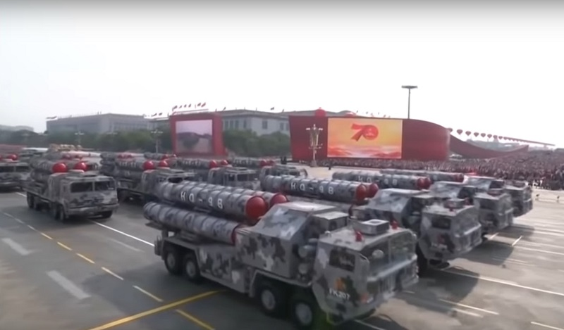 Китайські україноподібні крилаті ракети на параді в честь 70-річчя КНР