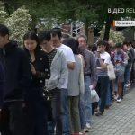 Черга на вибори у Гонконзі, протести