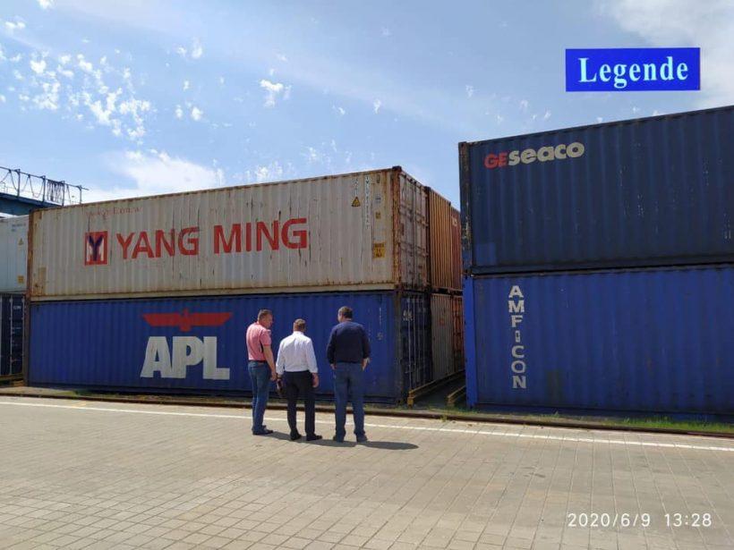 До Києва прибув перший прямий контейнерний поїзд з Китаю (відео)