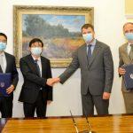 Міністерство інфрастраструктури, зустріч з представниками КНР