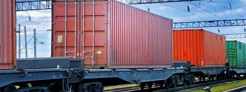 Дев'ятий контейнерний поїзд з китайського міста Наньчан прибув на станцію Київ