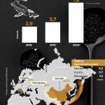 Динаміка імпорту ікри осетрових в Україну