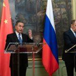 Министры иностранных дел Китая и России
