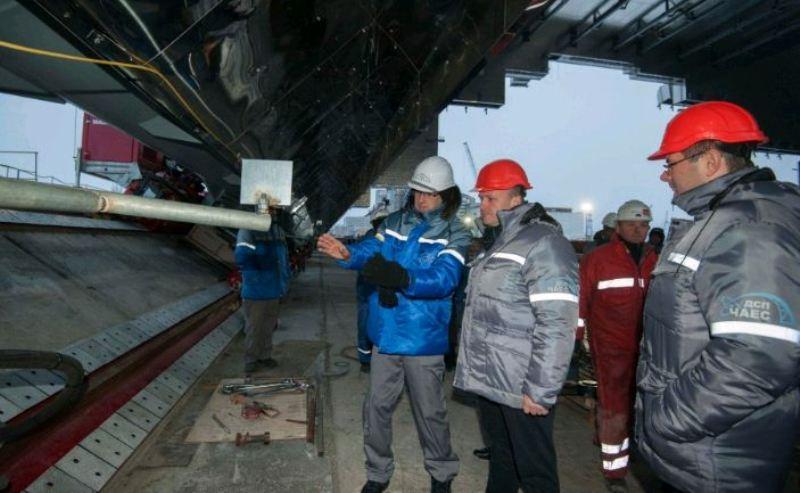 Ремонтні роботи га Чорнобильській АЕС