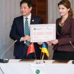 Лю Цзяньчжун SRCIC та Марина Порошенко, інклюзивна освіта