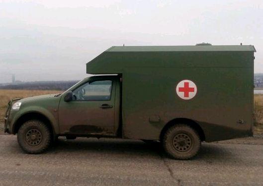 Внедорожник Great Great Wall Vingle 5 — база для санитарного автомобиля ВС Украины