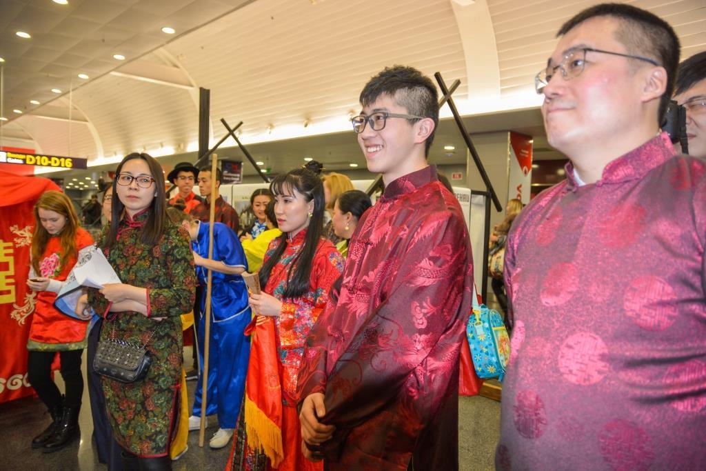 Святкування Китайського Нового року в аеропорту Бориспіль
