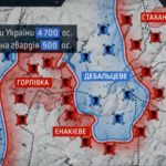 Відео про бої під Дебальцево на Донбасі
