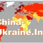 Карта світу, ВВП на душу населення, china-ukraine.info