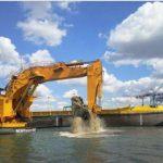 Поглиблення дна морського порту Ольвия (Южный) в Україні