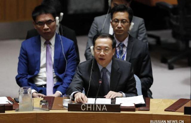 Представитель КНР в ООН Ма Чжаосюй обманывает мировую общественность  о причинах войны на юго-востоке Украины