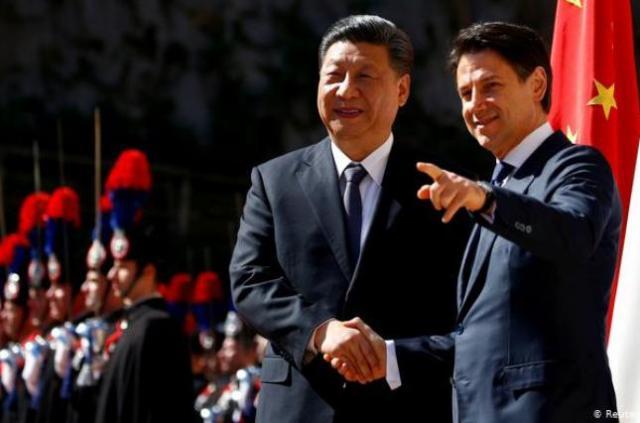 Италия и Китай подписали пакт о новом «Шелковом пути»