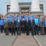 Фото Збірна команда ЗС України у Міністерстві оборони перед вильотом на Всесвітні ігри у КНР