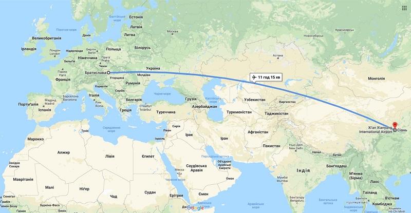 Новый короткий железнодорожный путь из Китая через Украину в Словакию и Евросоюз начал работать