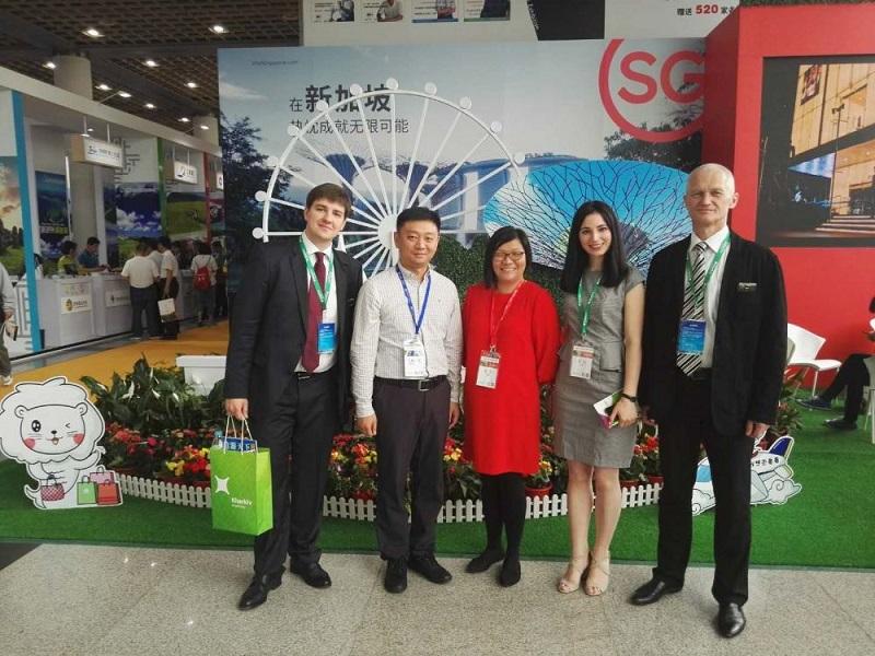 Делегация Харьковской мерии на туристической выставке в Китае