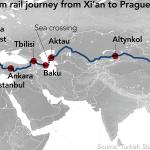 Шовковий шлях із Китаю через Азербайджан, Грузію і Турцію