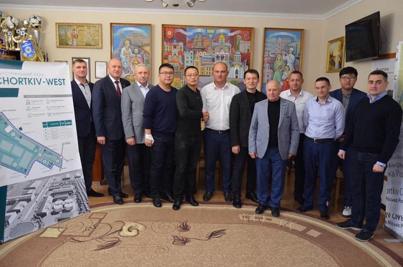 Xjhnrsd-West зустріч з итайськими інвесторами у Чорткові Тернопольської області