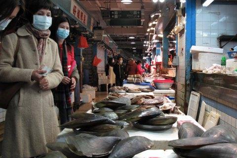 Пекинский оптовый рынок, коронавирус