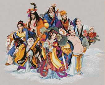 Культура и вера китайцев — Восемь Бессмертных (Богов)даосского пантеона